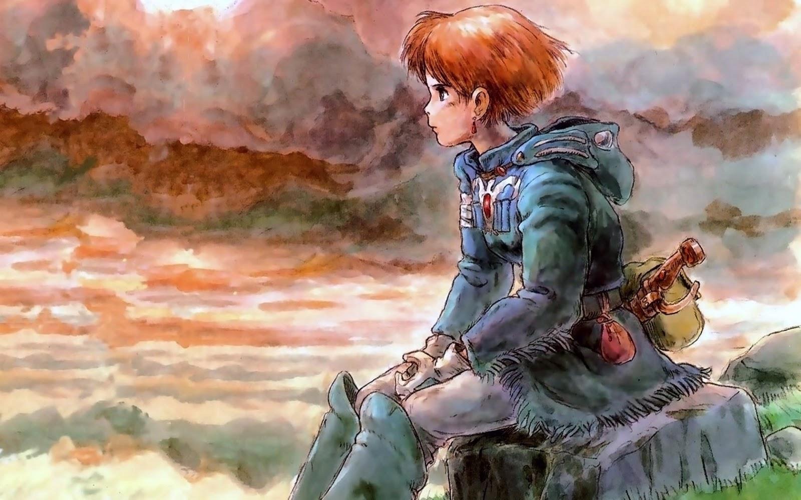 Nausicaä de la Vallée du vent Hayao Miyazaki