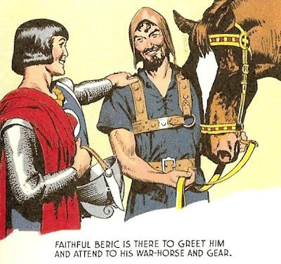 A Prince Named Valiant: Faithful Beric