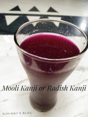 Njkinny's Blog: Mooli Kanji Recipe | Radish Kanji Recipe | Traditional Punjabi Kanji Recipe ~Indian Probiotic Drink