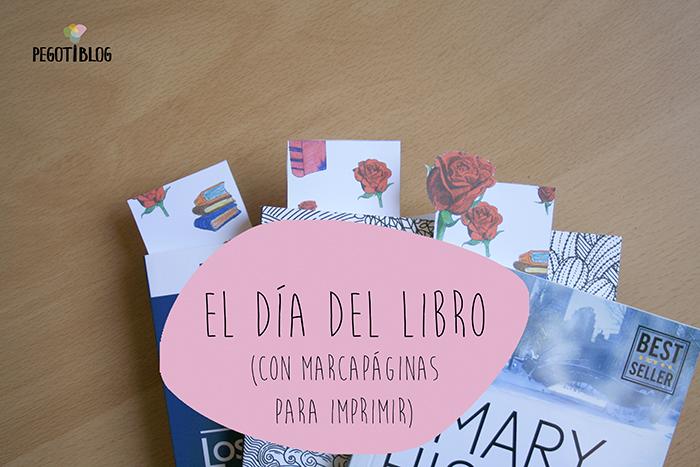 Marcapáginas para el Día del Libro