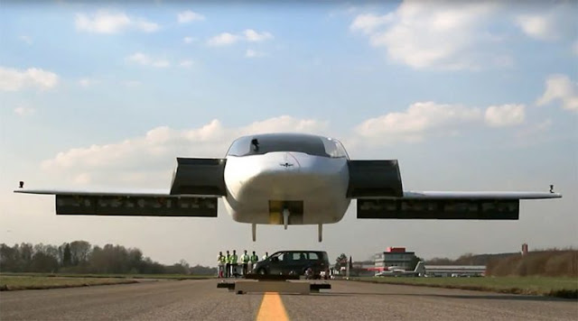'Flying Car' Nails Vertical Take-off In Stunning Test Run