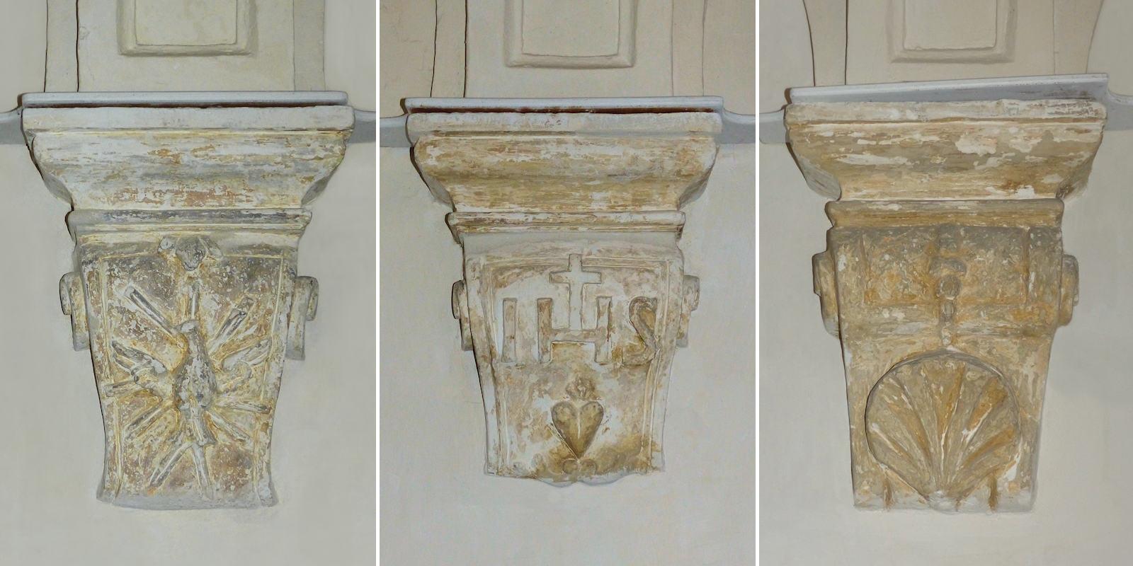 Culs-de-Lampe des galeries du cloître