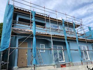 ウェザーシールという防水塗料 三重県鈴鹿市みのやの家