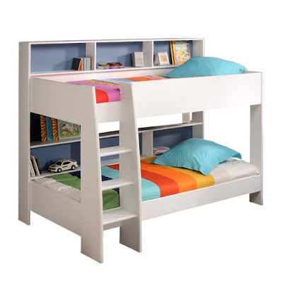 A Modern Bunk Bed with Stairs Ideas