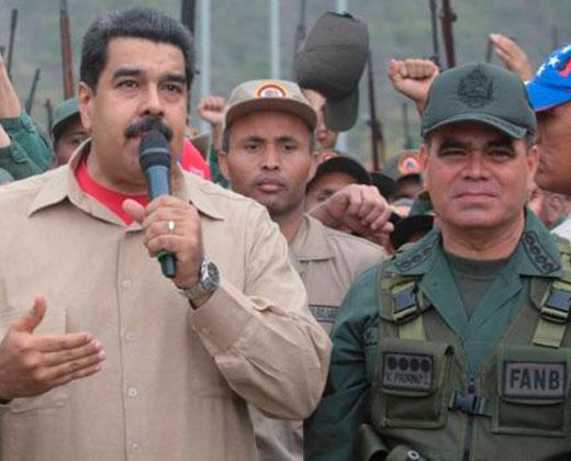 """¿Quién es Vladimir Padrino, el militar que Maduro nombró de """"superministro""""?"""