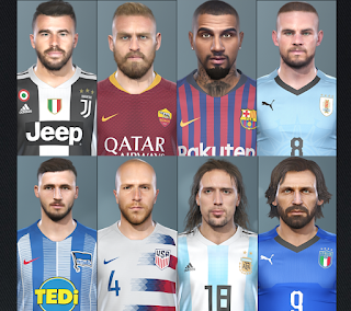 PES 2019 Facepack International by RobertPes Facemaker
