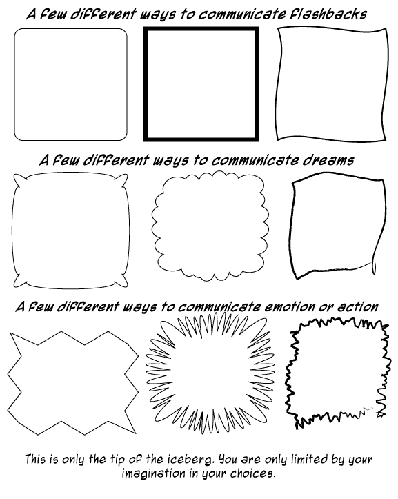 Comics Panels on Great Printable Of The Basic Elements Art In