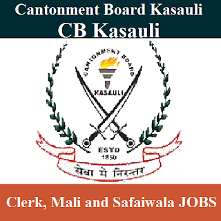 Cantonment Board Kasauli, CB Kasauli, Cantonment Board, CB Kasauli Answer Key, Answer Key, cb kasauli logo
