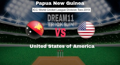 PNG vs USA Dream11 Prediction WCL Division Two Preview, Team News, Playing11