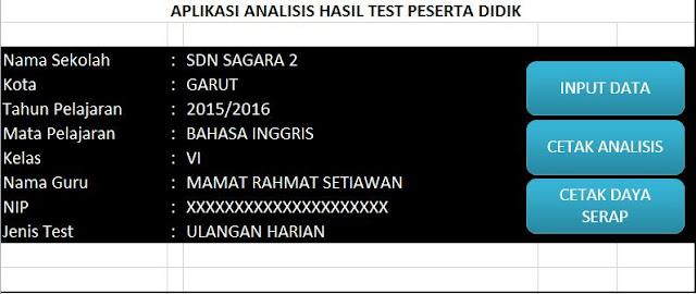Download Aplikasi Analisis Hasil Ulangan Siswa Gratis