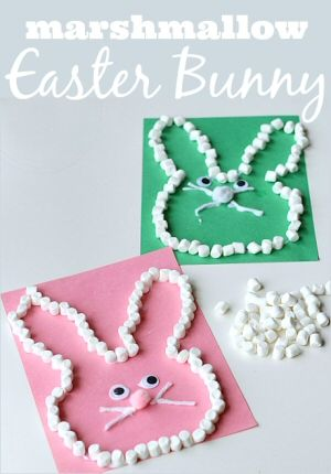 easter, crafts, kids, bunny, eater bunny, easy crafts