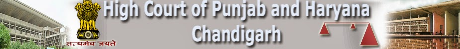 punjab and haryana high court recruitment 2014