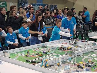 Πρόκριση για τους μαθητές του Κολεγίου μας στους τελικούς του Διαγωνισμού ρομποτικής FLL Greece