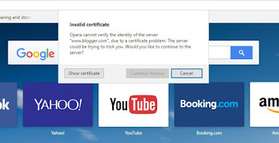 """The security certificate has expired or is not yet valid"" Solved"