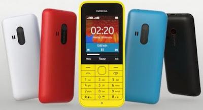 Download Firmware Nokia 220 Dual sIM RM-969 Version 20.14.11 Bi