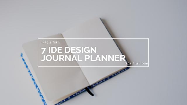 Menjadi Produktif dengan Journal Planner