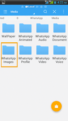 Hide any file or folder in adroid without any software 2