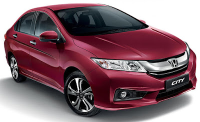 2017 Honda City facelift pink color