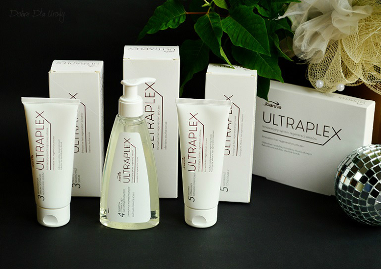 Joanna Ultraplex innowacyjny system do regeneracji włosów - aktywator, stabilizator i regenerator