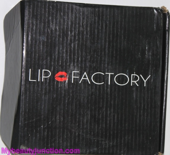 Lip Factory May 2014 beauty box review, unboxing