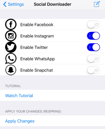 download%2Bmedia%2Bfrom%2Bsocial%2Bnetworking%2Bapps%2Bon%2BiPhone How To Obtain Media From Social Networking Apps On iOS 10 iPhone Apps iPhone Jailbreak