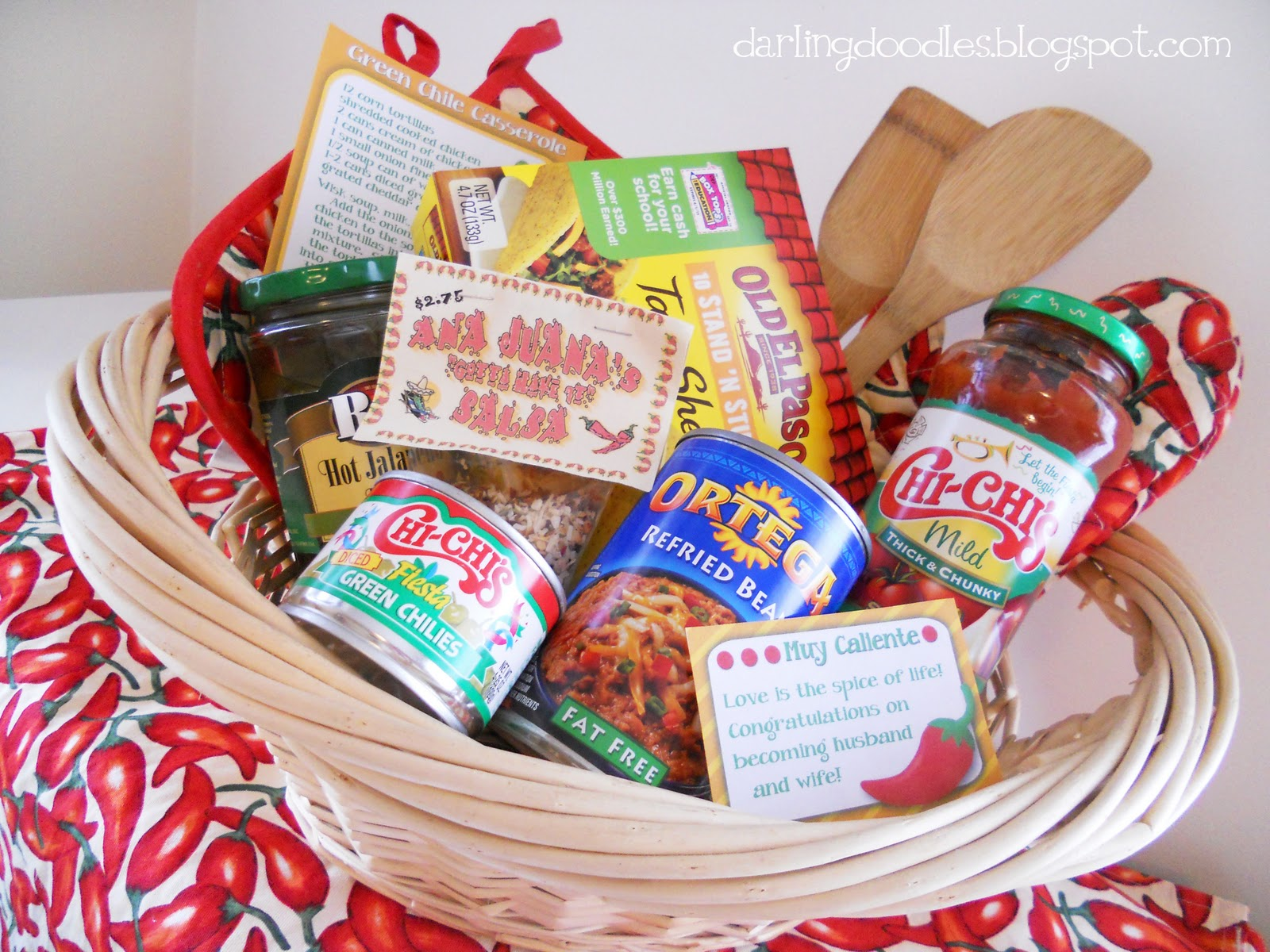 Mexican Food Gift Basket Ideas