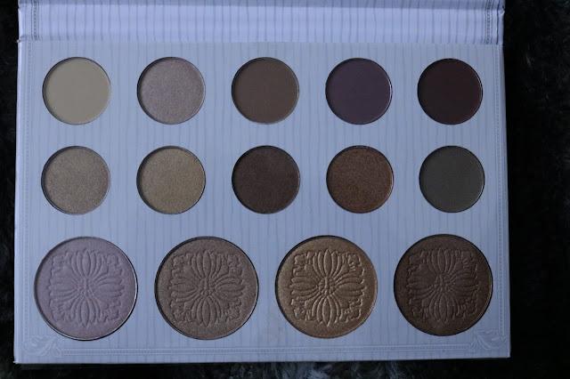 Carli Bybel BH Cosmetics Eyeshadow Highlighter Palette