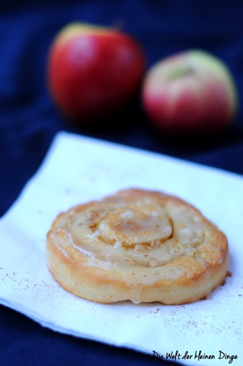 Die Welt der kleinen Dinge: Apfel-Zimt-Schnecken