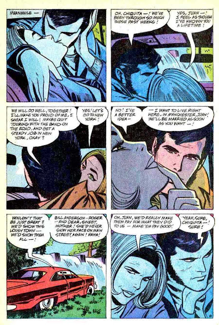Young Love v3 #79 silver age romance comic book page art by Alex Toth
