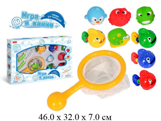 рыбалка игрушка для детей в ванну