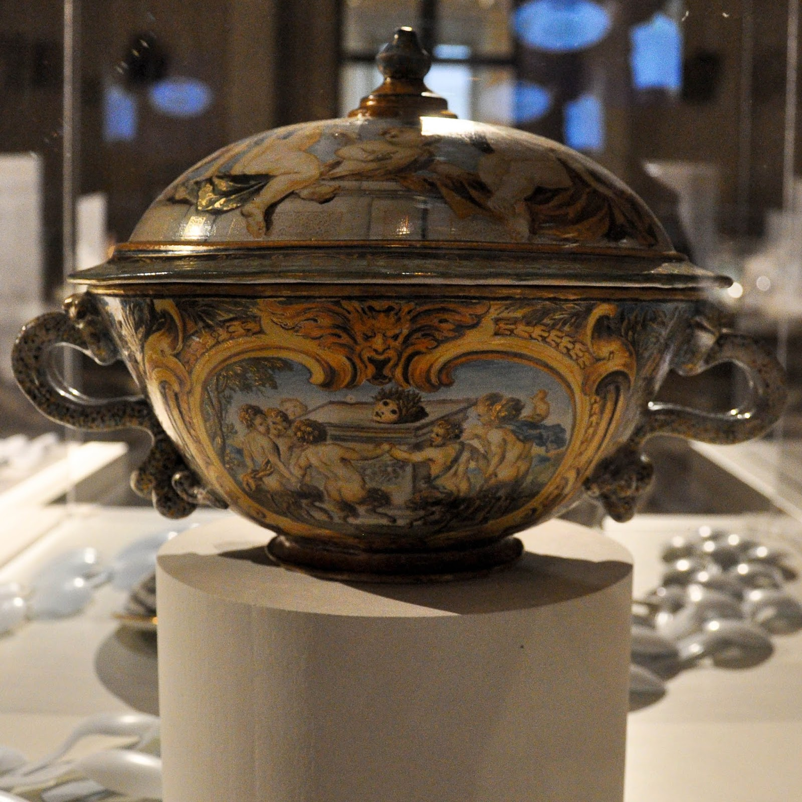 Tureen, First floor, Palazzo Madama, Turin, Italy