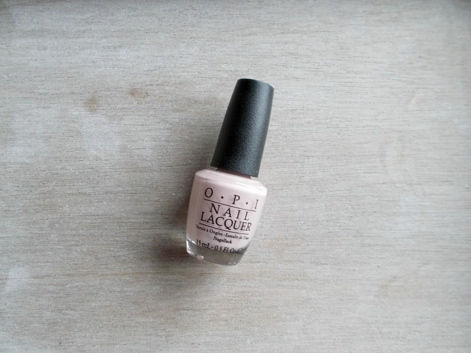OPI My Very First Knockwurst nail polish