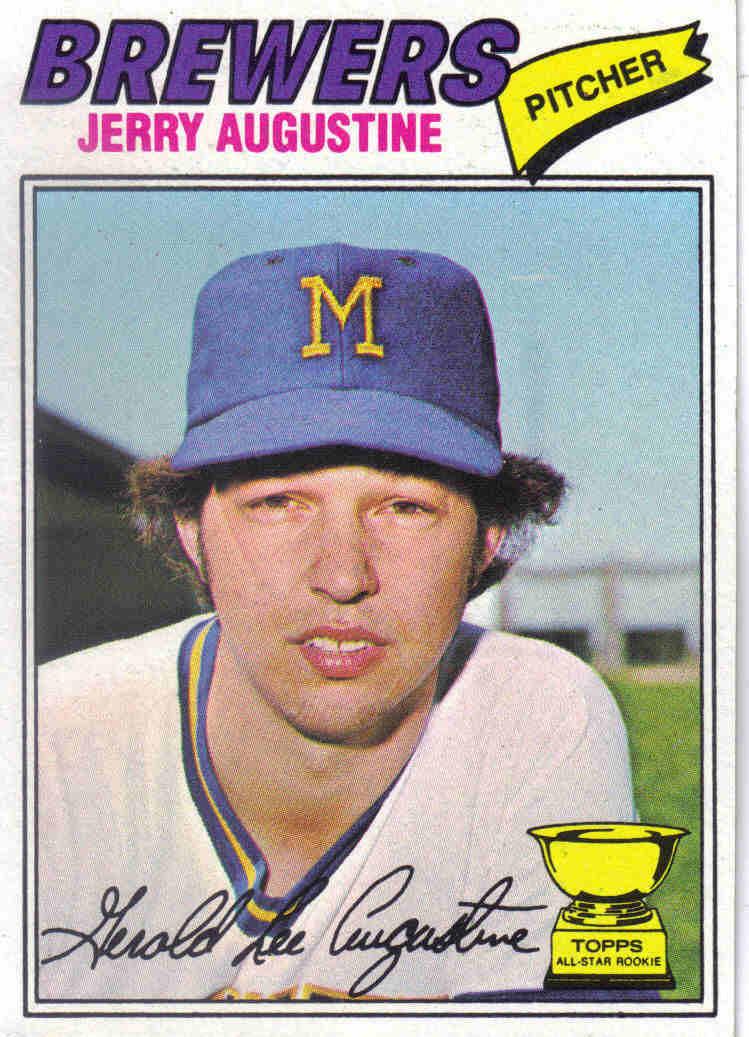 027b4c4127c Baseball 1977  1977 Topps Baseball  577 - Jerry Augustine