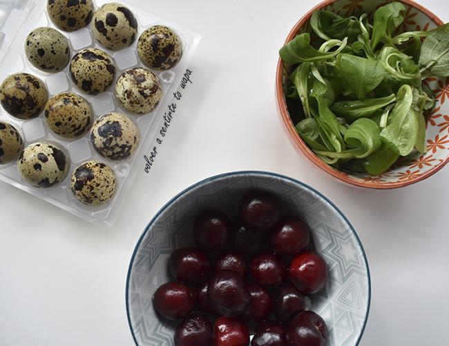 Alimentos Saludables: Huevos de Codorniz, Canónigos y Picotas