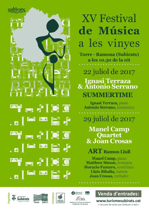 Esguard de Dona - XV Festival de Música a les vinyes a Torre-Ramona