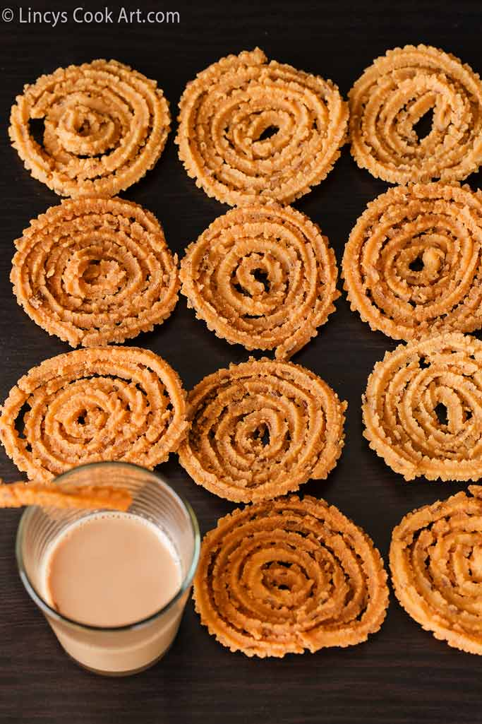 Split roasted gram dal Murukku