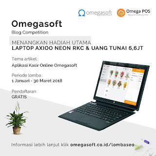 Kontes SEO Deadline 31 Maret 2018 ( Omegasoft Aplikasi Kasir Online )