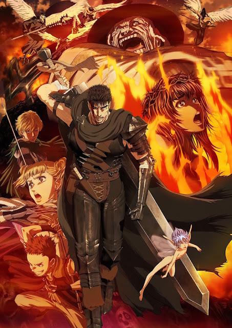 Un nouveau trailer et un nouvel artwork de l'anime Berserk 2016 ont été dévoilés