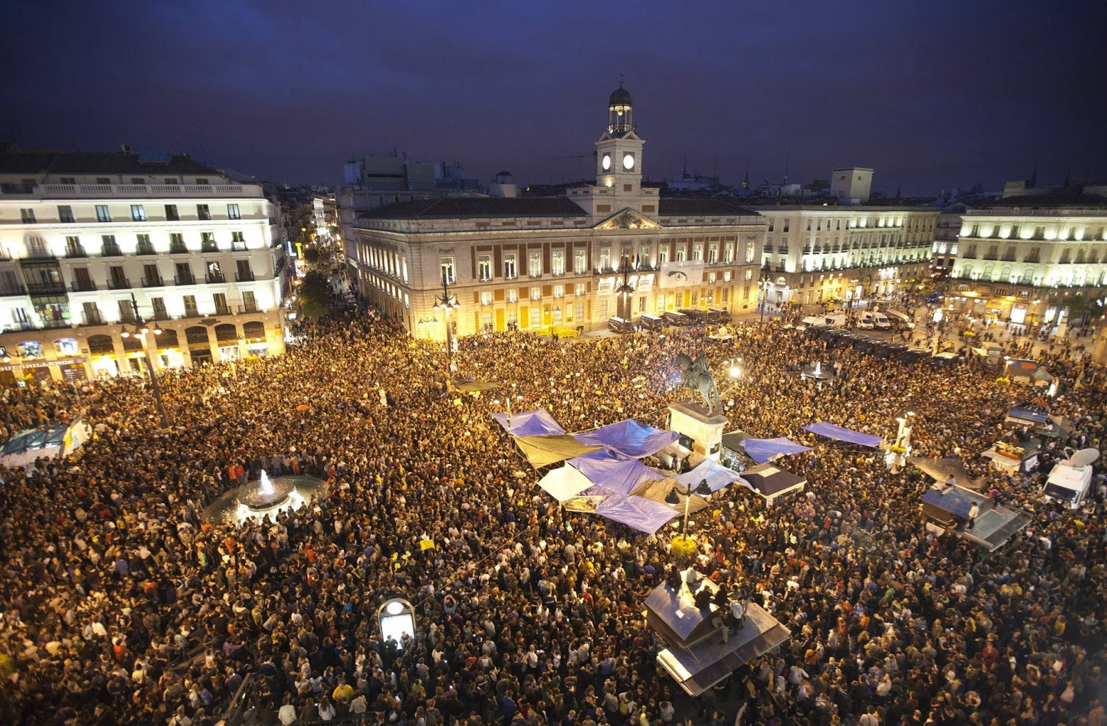 Ail madrid spanish language school blog new year 39 s eve in for Puerta del sol 5