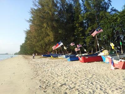 pengkalan nelayan di pantai puteri melaka