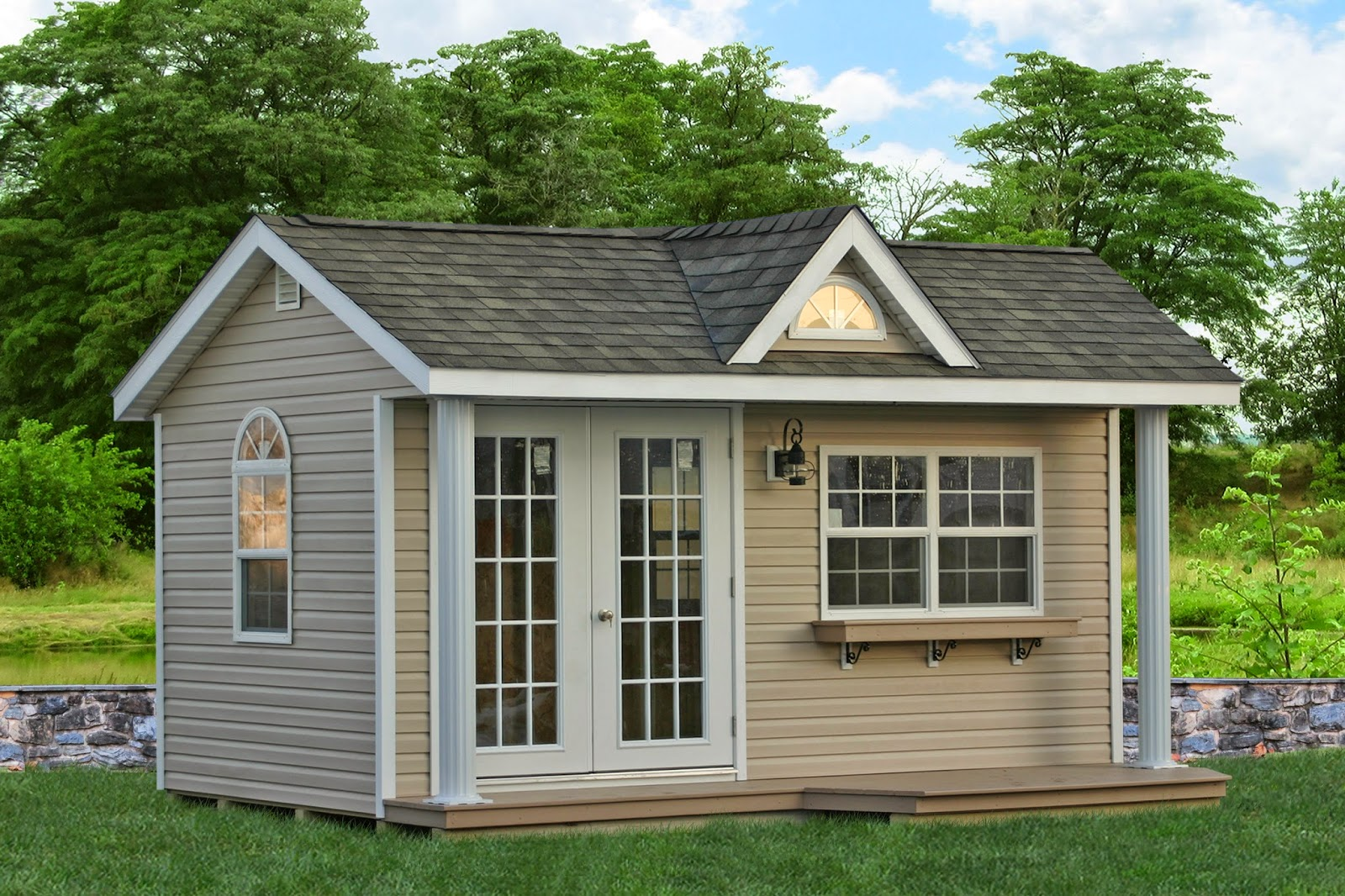 New home office sheds for sale for Garden pool sheds