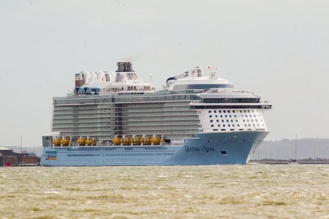 World's Most Innovative Cruise Ship Arrives in Southampton