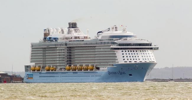 World39s Most Innovative Cruise Ship Arrives In Southampton