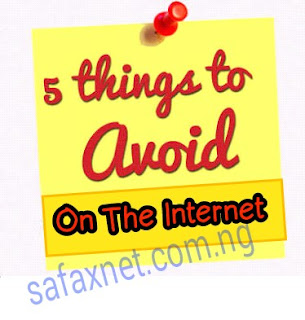 5 Terrible Things You Should Avoid When Using The Internet