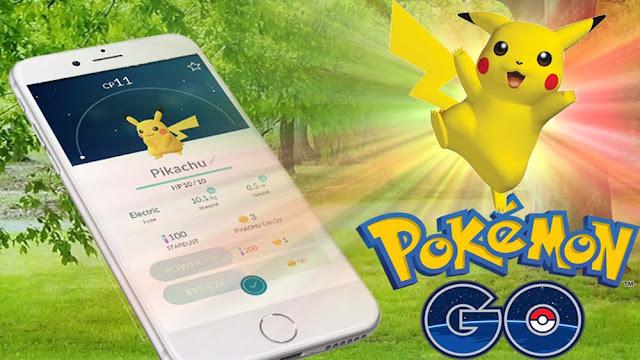 Cara mendapatkan Pikachu saat main Pokemon Go