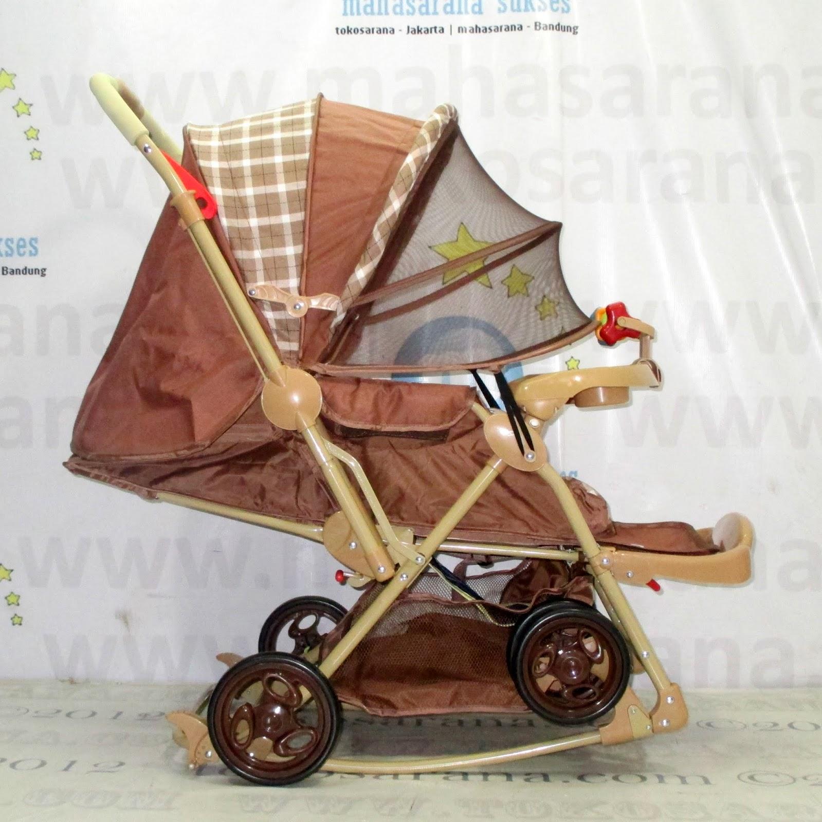 Stroller warna bagus tidak mudah kotor, Kereta Bayi Does