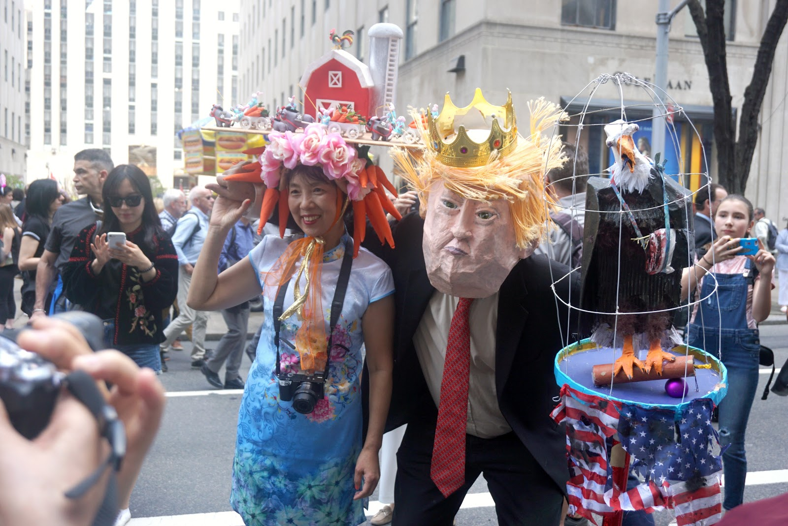 NYC Easter Bonnet Parade 2017