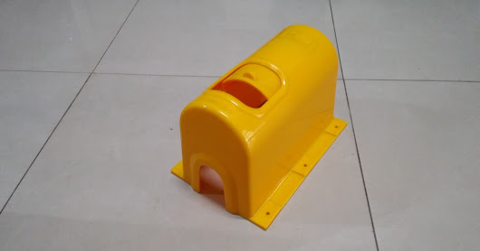 Box Meter Air MBR Kuning