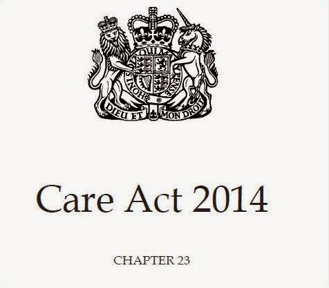 The Masked AMHP: The Care Act 2014: Implications for Sec