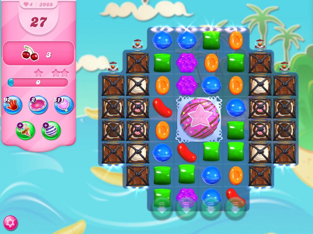 Candy Crush Saga level 3968